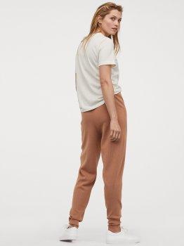 Спортивные штаны H&M 0804732-001 Бежевые