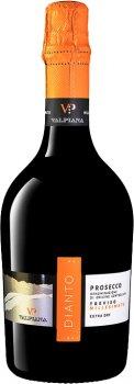 Вино ігристе Valpiana Prosecco DOC Millesimato Dianto біле екстрасухе 0.75 л 11% (8055349111087)