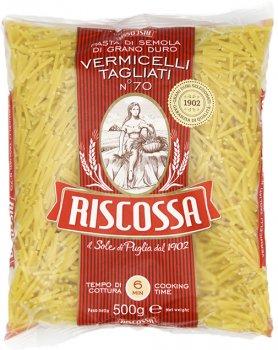 Упаковка макаронов Riscossa Vermicelli Tagliati 500 г х 4 шт (18011780009700)