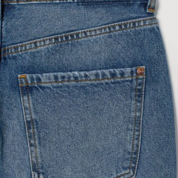 Юбка джинсовая H&M 0751342008 Синяя