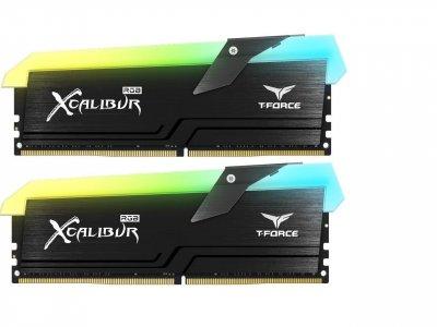Модуль памяти DDR4 2x8GB/4000 Team T-Force Xcalibur RGB Black (TF5D416G4000HC18EDC01)