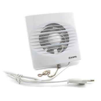 Легкий компактный энергоэффективный вытяжнойВентилятор Dospel ZEFIR 100WP с выключателем New (1000000692)
