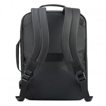 Компактний міський портфель-сумка-рюкзак-брифкейс 4в1 Arctic Hunter B00326 з USB портом, 20л