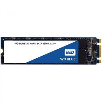 Накопитель SSD 1TB WD Blue M.2 2280 SATAIII 3D TLC (WDS100T2B0B)