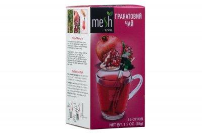 Гранатовий чай Mesh 16 стіків