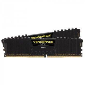 Модуль пам'яті для комп'ютера DDR4 16GB (2x8GB) 4000 MHz Vengeance LPX Black CORSAIR (CMK16GX4M2K4000C19)