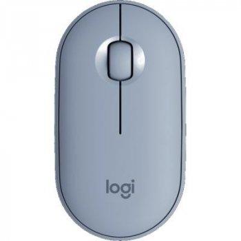Мышка Logitech M350 Blue Grey (910-005719)