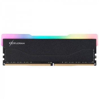 Модуль пам'яті для комп'ютера DDR4 8GB 2666 MHz RGB X2 Series Black eXceleram (ERX2B408269A)