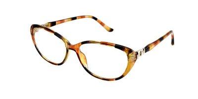 Очки для коррекции зрения женские в пластиковой оправе Vesta 1609C3 (-2.00) черепаховые