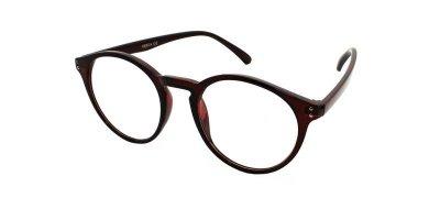 Очки для чтения в пластиковой оправе Vesta 19310C2 (+1.00) коричневые