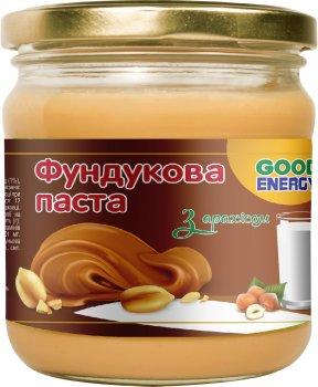 Фундуковая паста Good Energy с арахисом 180 г (4820175571251)