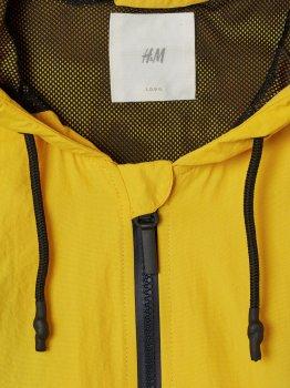 Ветровка H&M 4771639-AAAL Желтая с темно-синим