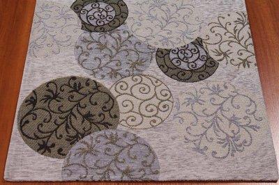 килим сучасного стилю з котону, шенилла і поліестеру, машинна робота з Єгипту 75x120 (21575 ART 3 0128/Q01 120x75)