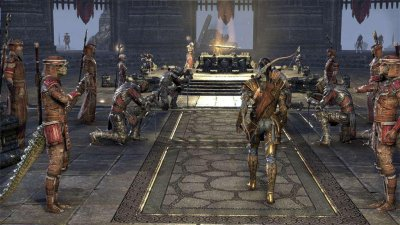 The Elder Scrolls Online: Tamriel Unlimited (английская версия) PS4