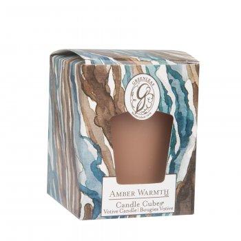 Свічка ароматизована Amber Warmth Greenleaf Тепло Бурштину 5х4 см (19840915)