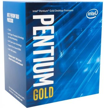 Процесор Intel Pentium Gold G6405 4.1 GHz (4MB, Comet Lake, 58W, S1200) Box (BX80701G6405)
