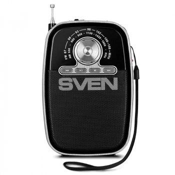Радіоприймач Sven SRP-445 Black