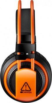 Гарнитура Canyon Corax CND-SGHS5A Black/Orange