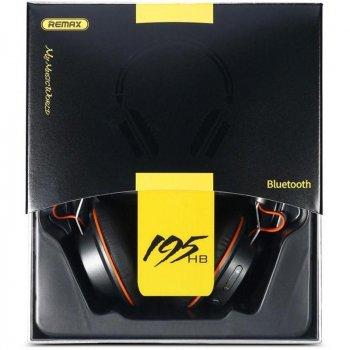 Беспроводные наушники bluetooth RB-195HB Black Remax 332501