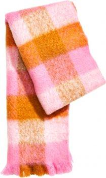 Шарф H&M 2hm055500003 Розовый (SHEK2000000262390)