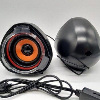 Колонки для комп'ютера і ноутбука Speaker MD A7 потужна комп'ютерна акустика на 10 Вт, з регулятором гучності живлення від USB (48048)