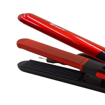 Плойка гофре и утюжок выпрямитель 2 в 1 Domotec MS-4909 Pro 30 Вт щипцы для выпрямления волос и создания волн и объема (47357)