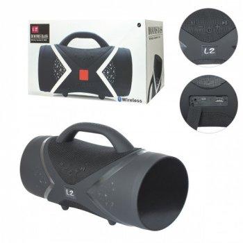 Портативная Bluetooth колонка Boom Bass E818,беспроводной динамик с блютусом, акустика, черный