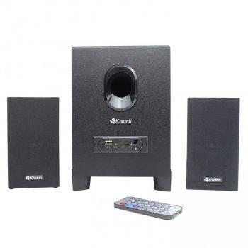 Колонки для ПК Kisonli TM-5000U, динамики для компьютера, домашняя аудиосистема, акустика, черный
