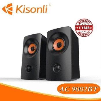 Колонки для ПК Kisonli AC-9002BT, динамики для компьютера, домашняя аудиосистема, акустика, черный