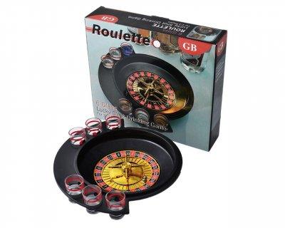 Настольная игра Алко Рулетка Roulette 6 рюмок (GBA066-1)