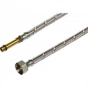 """Комплект гнучких шлангів Parigi Parinox (40 см) 1/2""""xM10 для підключення змішувача (60242)"""