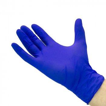 Перчатки Нитриловые Неопудренные MERCATOR MEDICAL Синие S (100 шт)