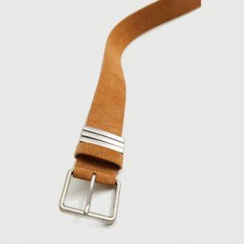 Женский ремень кожаный Mango 87035701-07 M (8445306610461)