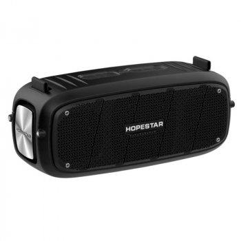 Портативна бездротова Bluetooth колонка Hopestar A20 55Вт Black з вологозахистом IPX6 і функцією зарядки пристроїв (A20B22)