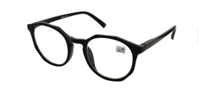 Очки для коррекции зрения пластиковая оправа Vesta 19307С1 (+1.00)