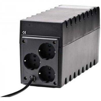 Джерело безперебійного живлення Powercom RPT-600A Schuko