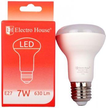 Світлодіодна лампа Electro House R63 7 W 4100 K E27 630 Lm 2 шт. (EH-LMP-R63)