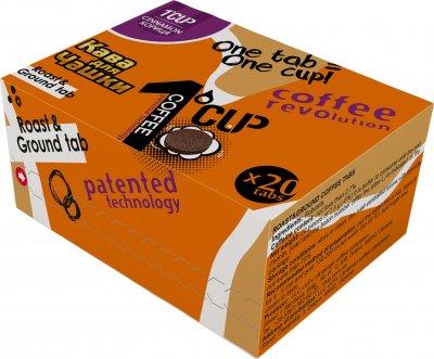 Кофе молотый прессованный для заваривания в чашке UCC 1 CUP Корица 20 шт (4820230023466)