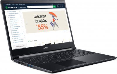 Ноутбук Acer Aspire 7 A715-42G-R3SK (NH.QBFEU.00E) Charcoal Black