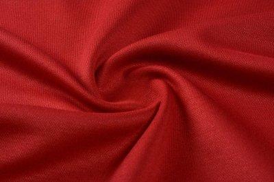 Ткань Трикотаж Джерси Итальяно красный пог. м. (5911)