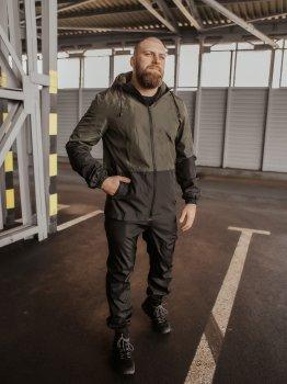 Спортивний костюм IBR Softshell light 1586807884 Чорний/Хакі