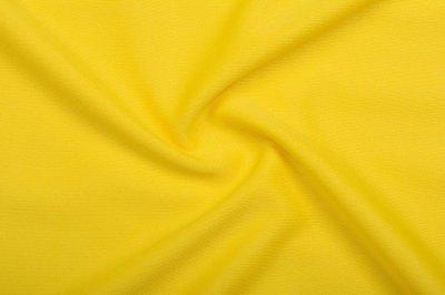 Ткань Трикотаж Джерси (подкладочный) желтый пог. м. (8213)