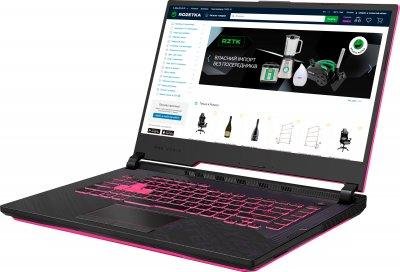 Ноутбук Asus ROG Strix G15 G512LI-HN068 (90NR0383-M02300) Electro Punk