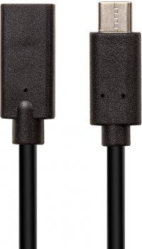 Кабель PowerPlant USB Type-C M/F (USB3.0) 3А AWG24+32 3 м (CA912599)