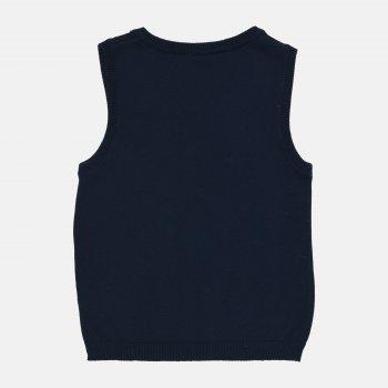 Жилет H&M 203-650979801 Темно-синий