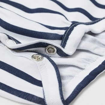 Боди-футболка H&M HOM91115 Белый/Комбинированный