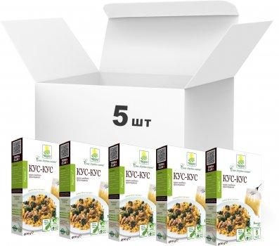 Упаковка крупы Терра Кускус быстрого приготовления в варочном пакете 400 г х 5 шт (4820015737267)
