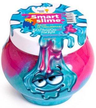 Детская игрушка лизун Мялка-жмялка 2 в 1 Genio Kids, розово-голубая