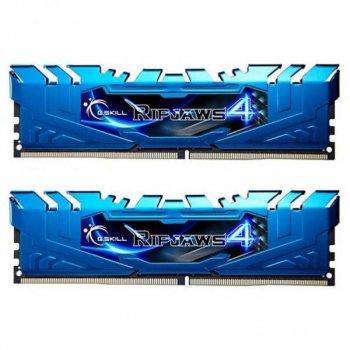 Модуль пам'яті DDR4 2x8GB/3000 G. Skill Ripjaws 4 Blue (F4-3000C15D-16GRBB)