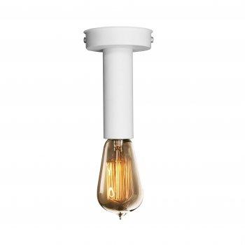 Світильник стельовий 100lamp Loft Е-27 метал, білий (NL 1409 W)